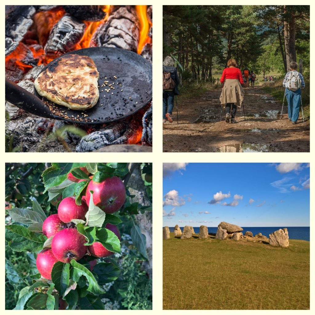 2018-09-23 – Spår av historia – En mat- och kulturarvsvandring på Österlen