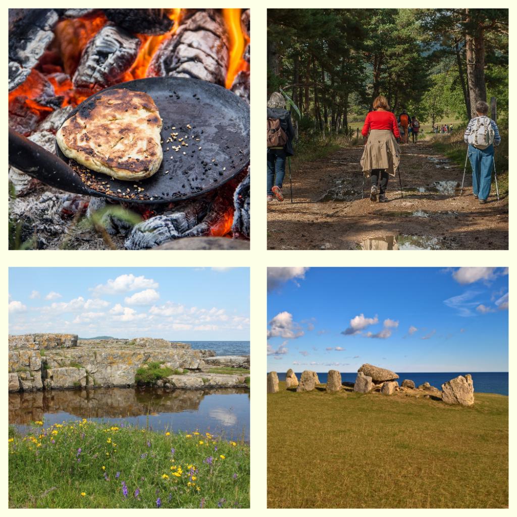 2018-07-22 – Spår av historia – En mat- och kulturarvsvandring på Österlen